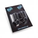 2 kpl  - Silicone Biogrippi  (30mm ) MUSTA by Bez of Triplesix Studios