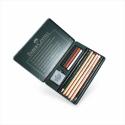 Faber-Castell - Pitt Set, Metal Tin of 12 Items