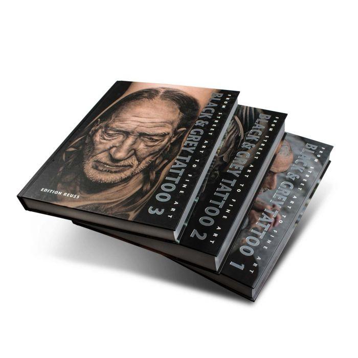 Black & Grey Book: 1-3 Volume Set - Edition Reuss