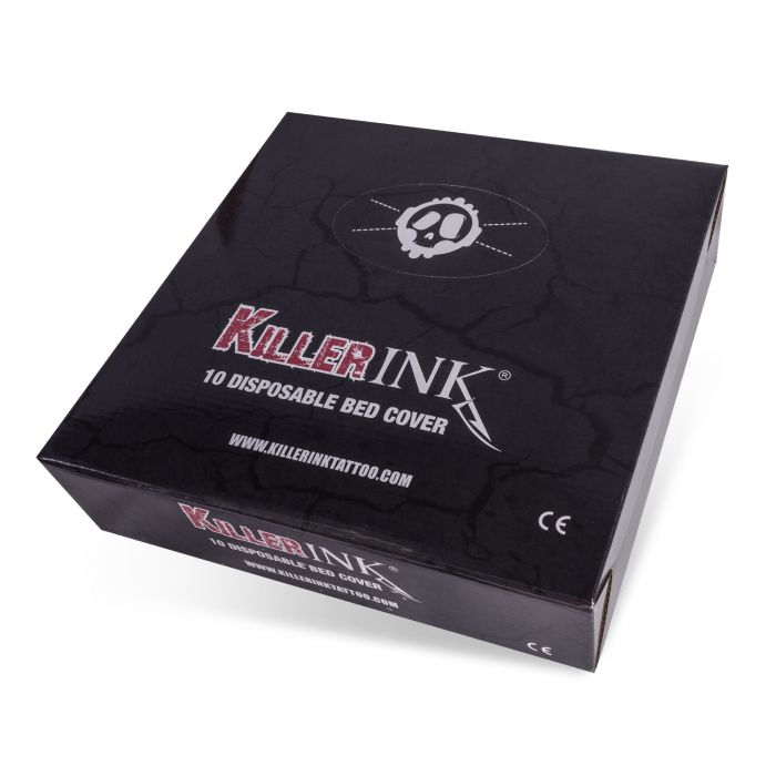 10kpl boxi  Killer Ink  Elasticated Bed Covers 210x90x20cm
