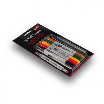 Copic CIAO Markers - Hues - 5+1kpl pakkaus
