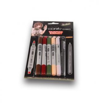 Copic CIAO Markers - Vampire Knight - 5+1kpl pakkaus