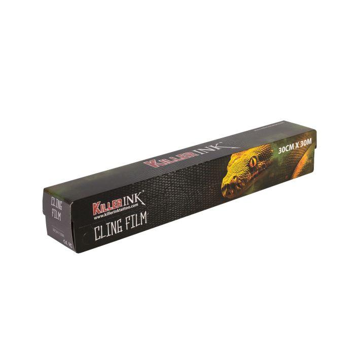 Killer Ink  Easy Cut Cling Film in Dispenser 30m x 30cm