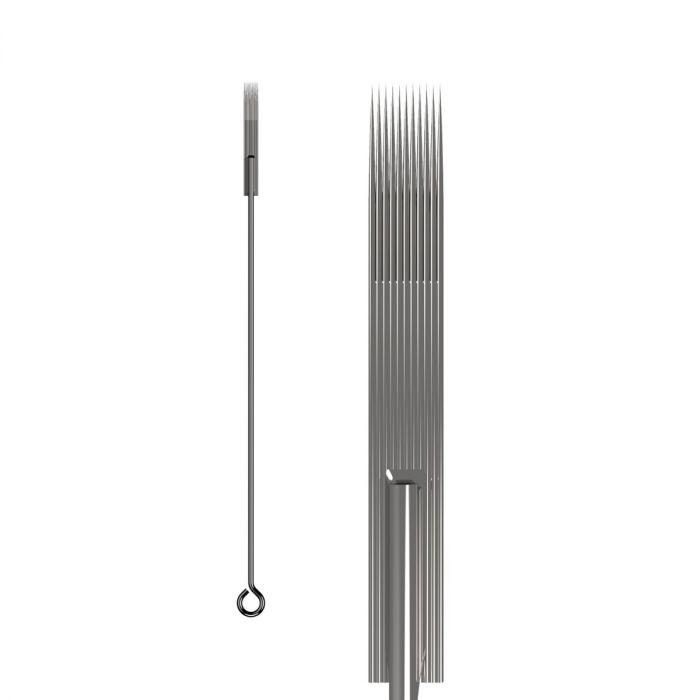 50kpl KWADRON neulat 0.35mm  LONG TAPER - Flat