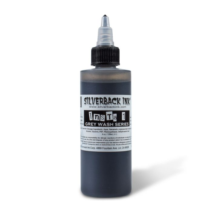 Silverback Ink® Insta10Shade Grey Wash Series - Shade 01 120ml (4oz)