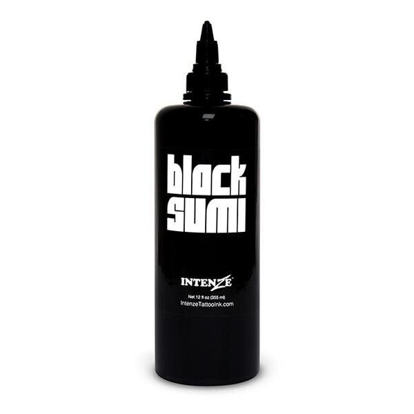 Intenze Japaneze Black Sumi 360ml (12oz) muste