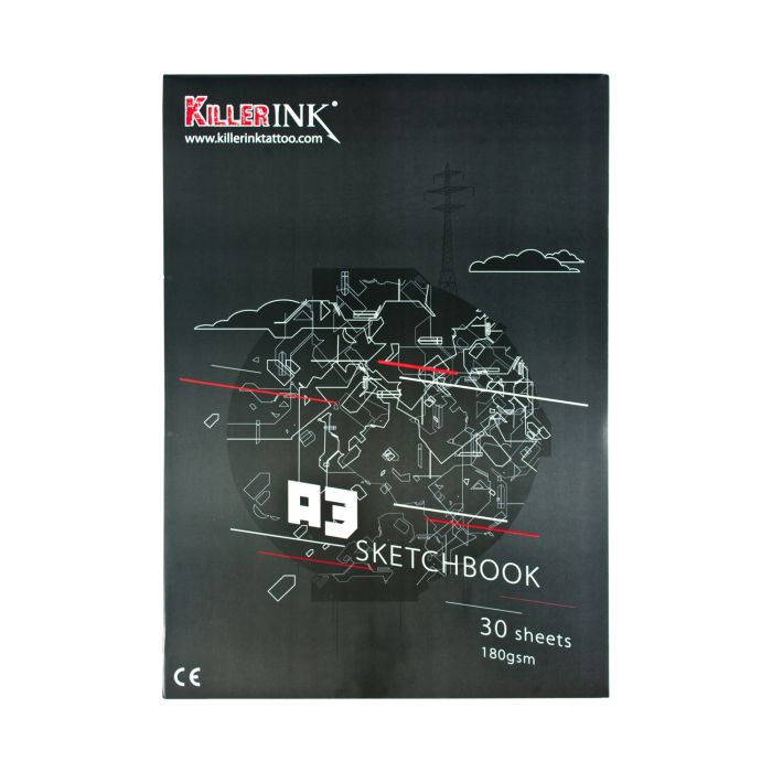 Killer Ink  180GSM High Quality Artist / Sketch Pad A3 tai A4 (30kpl)