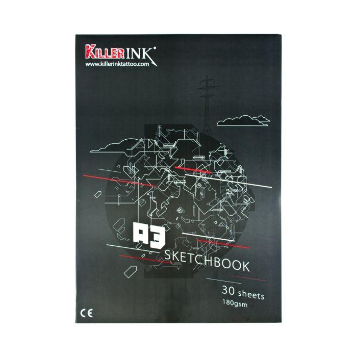 Killer Ink  63GSM piirustuspaperi   A3 tai A4 (50kpl)