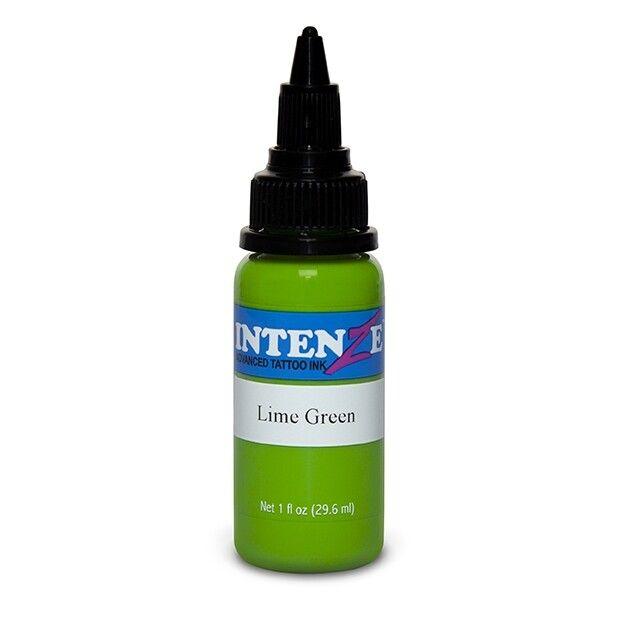 Intenze New Original 30ml (1oz) Lime Green muste