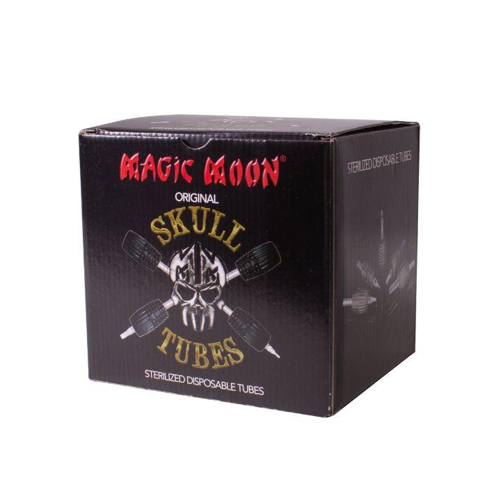 Box of 20 Magic Moon Skull Tubes - 30mm - Diamond