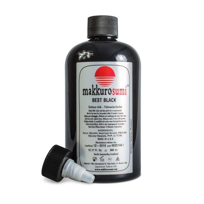 Makkuro Sumi 360ml (12oz) Best Black muste