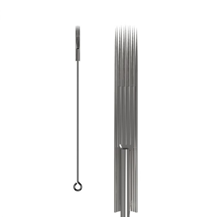 50kpl KWADRON neulat 0.35mm  LONG TAPER - Soft Edge Magnum