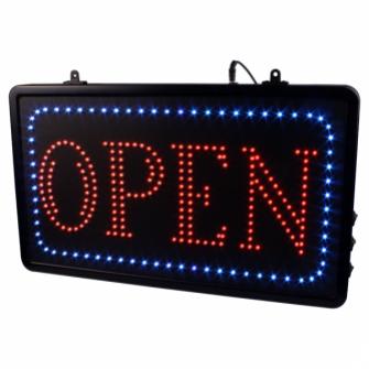 Ripustettava Open LED  studio kyltti EU