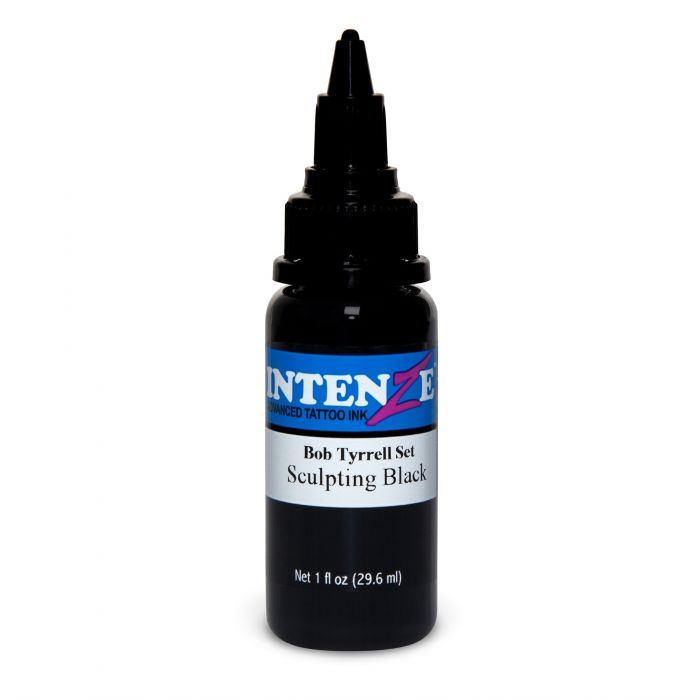 Intenze Bob Tyrrell 30ml (1oz) Sculpting Black muste